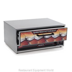 Connolly Roll-A-Grill by Nemco 8027-BW Hot Dog Bun / Roll Warmer