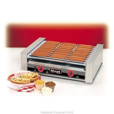 Connolly Roll-A-Grill by Nemco 8027SX Hot Dog Grill Roller-Type
