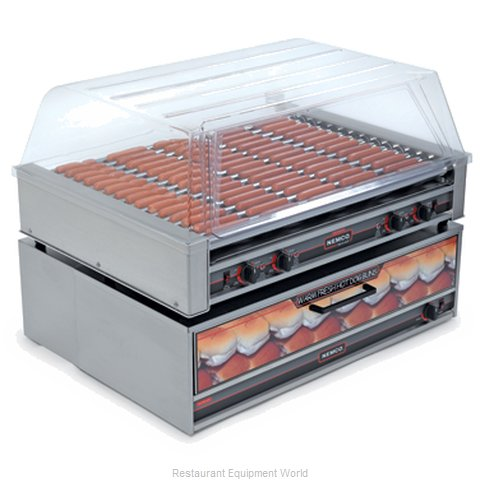 Connolly Roll-A-Grill by Nemco 8075SX-220 Hot Dog Grill