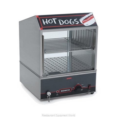 Connolly Roll-A-Grill by Nemco 8300-220 Hot Dog Steamer