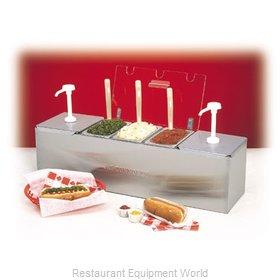 Connolly Roll-A-Grill by Nemco 88100-CB-1 Condiment Dispenser, Pump-Style