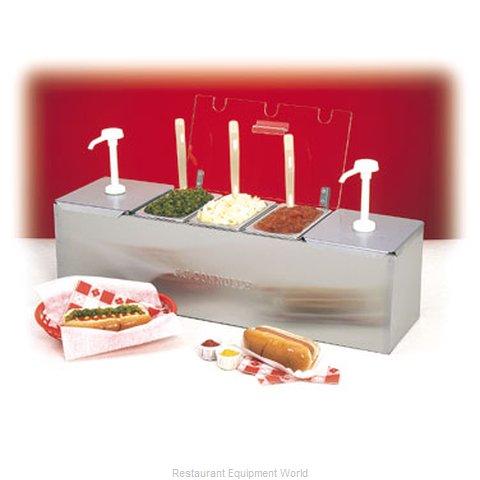 Connolly Roll-A-Grill by Nemco 88100-CB-3 Condiment Dispenser, Pump-Style