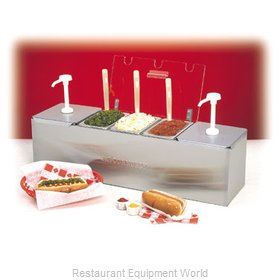 Connolly Roll-A-Grill by Nemco 88100-CB-3 Condiment Dispenser, Pump-Style