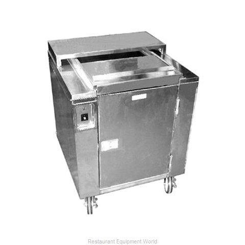 Carter-Hoffmann CD27 Cart, Heated Dish Storage