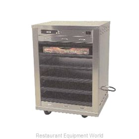 Carter-Hoffmann DF1818-4 Heated Holding Cabinet Mobile Pizza