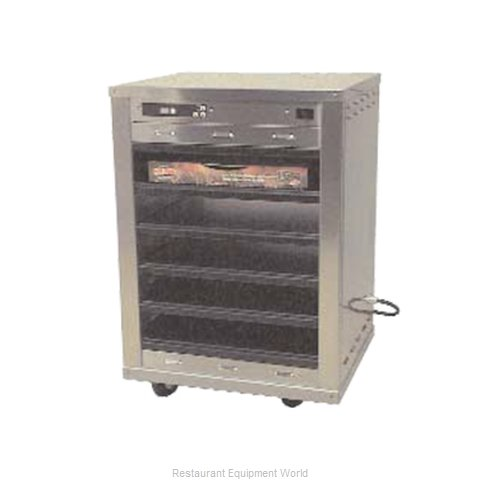 Carter-Hoffmann DF1818-5 Heated Holding Cabinet Mobile Pizza
