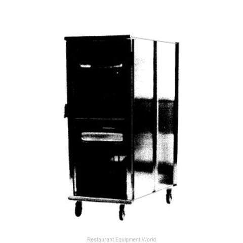 Carter-Hoffmann E8612V Bun Pan Rack Cabinet Mobile Enclosed