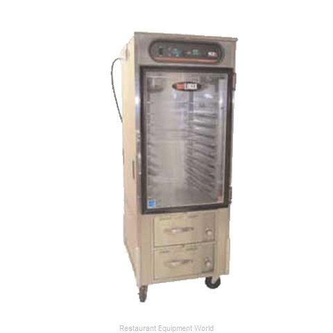 Carter-Hoffmann HL10-10-RW Heated Holding Cabinet Mobile