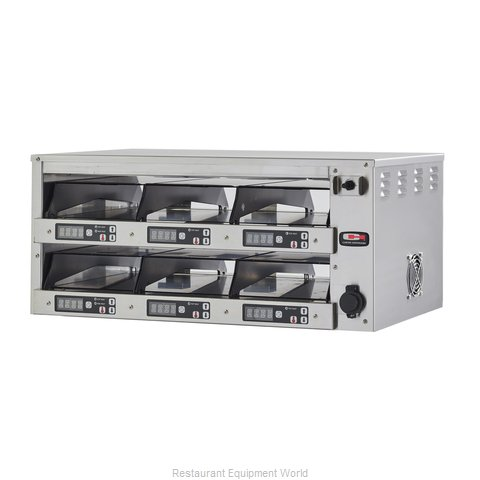 Carter-Hoffmann M212S-2T Heated Cabinet, Countertop