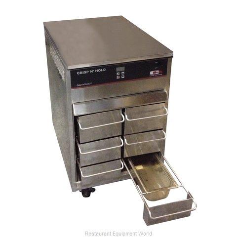 Carter-Hoffmann VCNH2W3S Heated Cabinet, Countertop