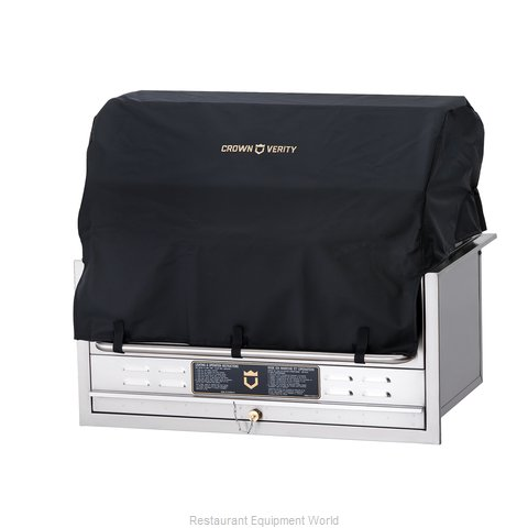 Crown Verity BC-36-BI Vinyl BBQ Cover