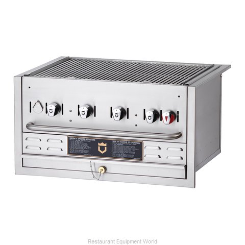 Crown Verity BI-30LP Charbroiler Gas Outdoor Grill