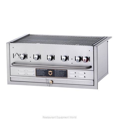 Crown Verity BI-36LP Charbroiler Gas Outdoor Grill
