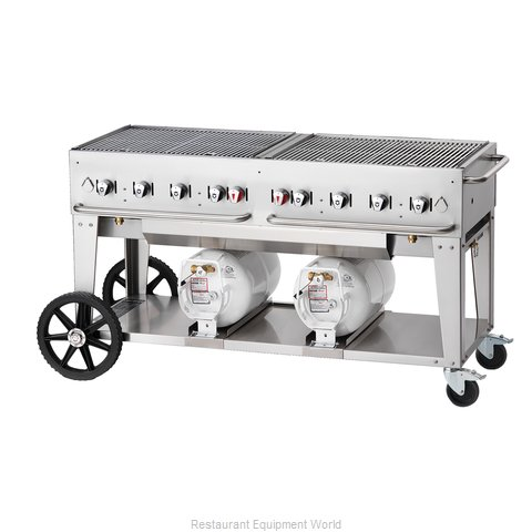 Crown Verity CCB-60-LP Charbroiler Gas Outdoor Grill