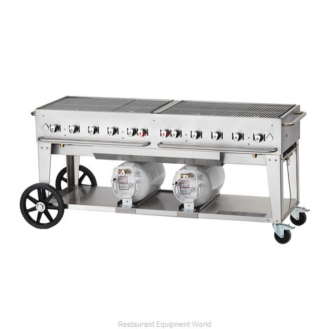 Crown Verity CCB-72-LP Charbroiler Gas Outdoor Grill