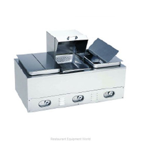 Crown Verity CV-3WHS Hot Dog Steamer