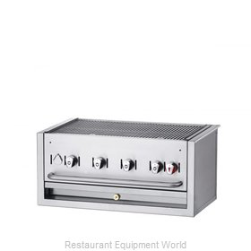 Crown Verity CV-BI-30NG Charbroiler, Gas, Outdoor Grill