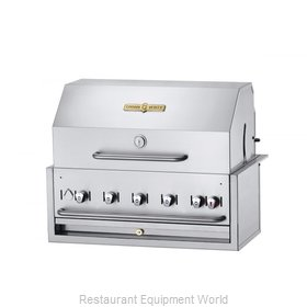 Crown Verity CV-BI-36PKG-NG Charbroiler, Gas, Outdoor Grill