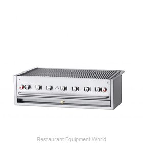 Crown Verity CV-BI-48NG Charbroiler, Gas, Outdoor Grill