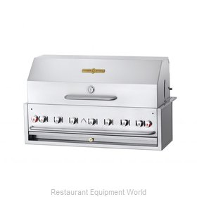 Crown Verity CV-BI-48PKG-LP Charbroiler, Gas, Outdoor Grill