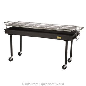 Crown Verity CV-BM-60 Charbroiler, Charcoal, Outdoor Grill