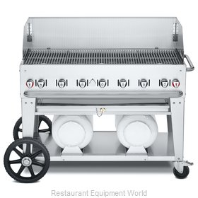 Crown Verity CV-CCB-48WGP Charbroiler, Gas, Outdoor Grill