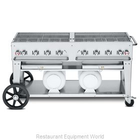 Crown Verity CV-CCB-60-LP Charbroiler, Gas, Outdoor Grill