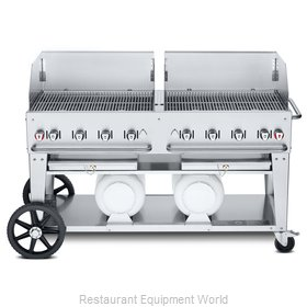 Crown Verity CV-CCB-60WGP Charbroiler, Gas, Outdoor Grill