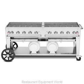 Crown Verity CV-CCB-72-LP Charbroiler, Gas, Outdoor Grill