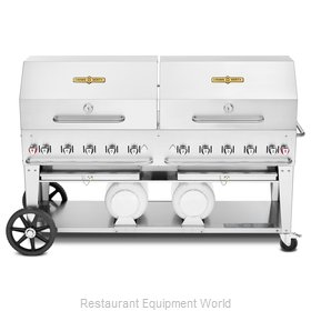 Crown Verity CV-CCB-72RDP Charbroiler, Gas, Outdoor Grill