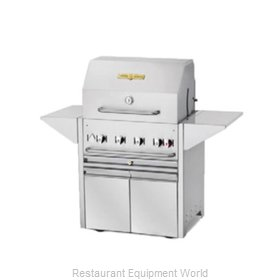 Crown Verity CV-MBI-30-NG Charbroiler, Gas, Outdoor Grill