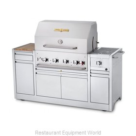 Crown Verity CV-MBI-30I-NG Charbroiler, Gas, Outdoor Grill