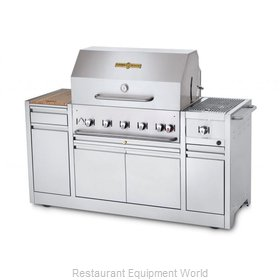 Crown Verity CV-MBI-36I-NG Charbroiler, Gas, Outdoor Grill