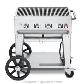 Crown Verity CV-MCB-30NG Charbroiler, Gas, Outdoor Grill