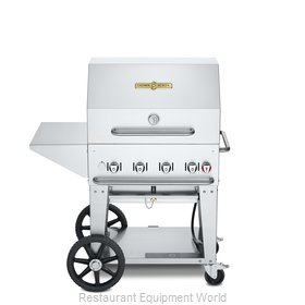 Crown Verity CV-MCB-30PKG-NG Charbroiler, Gas, Outdoor Grill