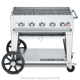 Crown Verity CV-MCB-36NG Charbroiler, Gas, Outdoor Grill