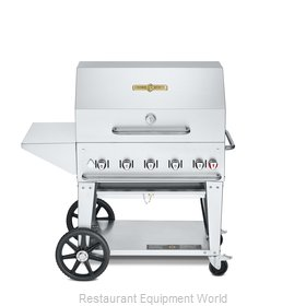 Crown Verity CV-MCB-36PKG-NG Charbroiler, Gas, Outdoor Grill