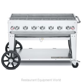 Crown Verity CV-MCB-48NG Charbroiler, Gas, Outdoor Grill