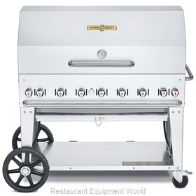 Crown Verity CV-MCB-48RDP-NG Charbroiler, Gas, Outdoor Grill
