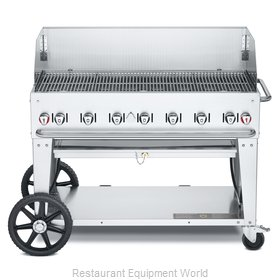 Crown Verity CV-MCB-48WGP-NG Charbroiler, Gas, Outdoor Grill