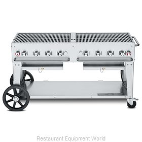 Crown Verity CV-MCB-60NG Charbroiler, Gas, Outdoor Grill