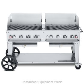 Crown Verity CV-MCB-60WGP-NG Charbroiler, Gas, Outdoor Grill