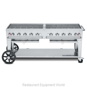 Crown Verity CV-MCB-72LP Charbroiler, Gas, Outdoor Grill