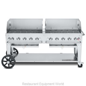 Crown Verity CV-MCB-72WGP-LP Charbroiler, Gas, Outdoor Grill
