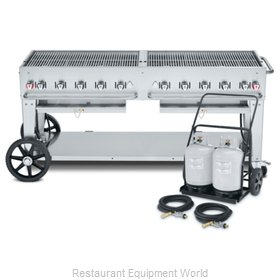 Crown Verity CV-MCC-72 Charbroiler, Gas, Outdoor Grill