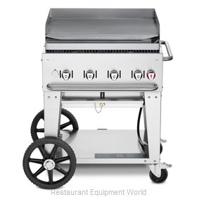 Crown Verity CV-MG-30NG Griddle, Outdoor Portable