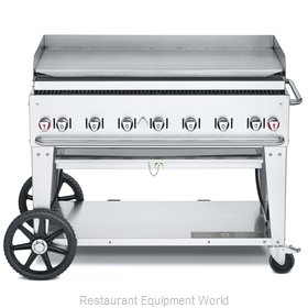 Crown Verity CV-MG-48NG Griddle, Outdoor Portable