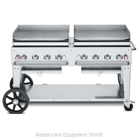 Crown Verity CV-MG-60NG Griddle, Outdoor Portable
