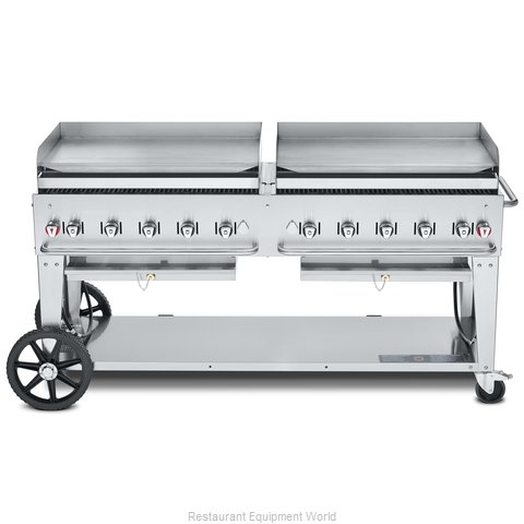 Crown Verity CV-MG-72NG Griddle, Outdoor Portable