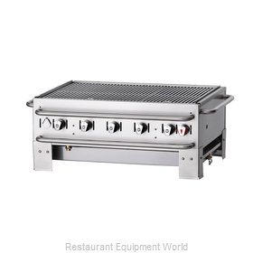 Crown Verity CV-PCB-36 Charbroiler, Gas, Outdoor Grill